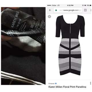 Karen Millen Bodycon Tribal Dress