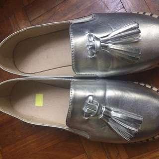 Espadrilles Silver SALE