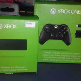 Wireless Xbox One controller and Wireless adapter for windows