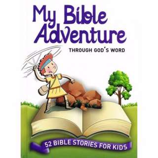 @[Brand New] My Bible Adventure  : Through God's Word (52 Bible Stories for Kids)