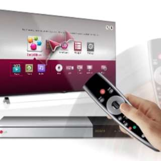 LG NETWORK 3D BLU-RAY DISC/DVD PLAYER