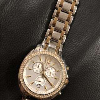 Authentic Michael Kors Watch duo tone