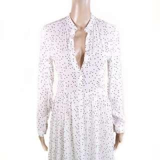 Rollas White Polkadot Dress