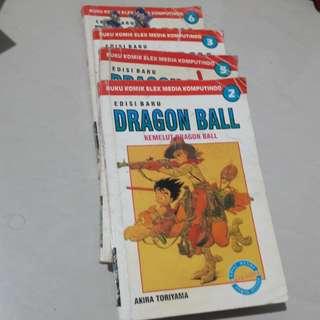 Dragon Ball Comic edisi 2, 3, 5, 6