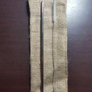 Straight Metal Straw
