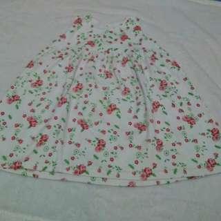 Dress baby flower