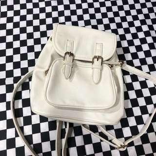 GRL🖤🖤日本購入 米白色小後背包