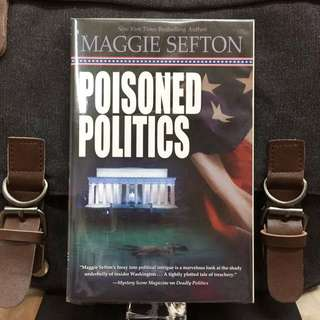 # Novel《Bran-New + Political Mystery Fiction》Maggie Sefton - POISONED POLITICS (A Molly Malone Mystery)
