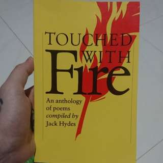 Touched with Fire: An anthology of poems compiled by Jack Hydes
