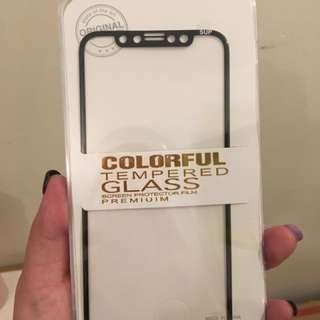 IphoneX 玻璃Mon貼