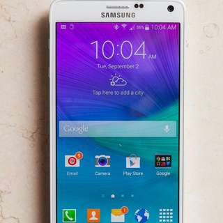 Used Samsung Note 4