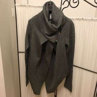 Womens turtle neck jacket