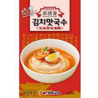 免運 換物 御膳寶泡菜風味湯麵 112g 泡菜麵 韓式泡菜