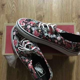 authentic vans multi floral shoes