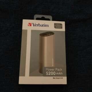 全新Verbatim 5200mAh 尿袋