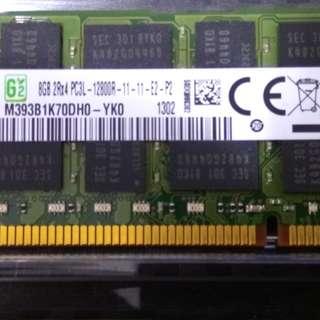 WTT 16GB (2x 8gb) DDR3 memory modules