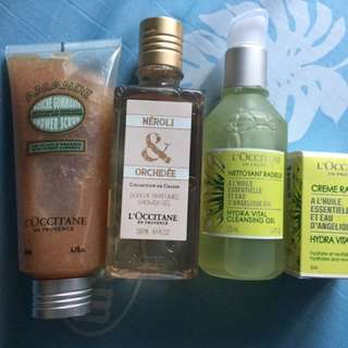 L' Occitane products