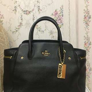 Bonia black bag ORIGINAL! No Fake!