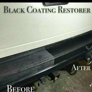 **Hot Stuff** Black Coating Restorer for Car