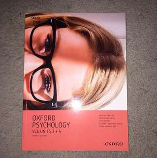oxford psychology 3/4 textbook