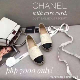 new style ff816 aa718 chanel espadrille authentic | Online Shop & Preorder ...