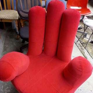 Red Hand Sofa