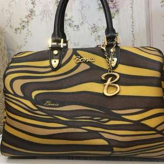 Bonia stripes bag ORIGINAL!