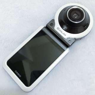 白色FR100廣角美肌防水相機