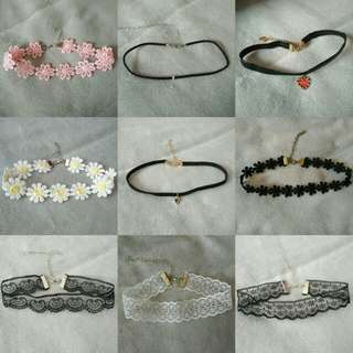 Chokers BUY 3 GET 1 FREE!!