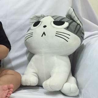 cuddly cat stuffed toy