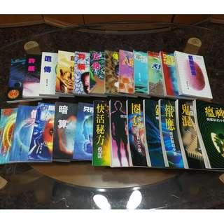 倪匡卫斯理科幻小说 (Ni Kuang's Wisely sci-fi novels)