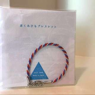 日本手製紐繩手鏈    Japanese handmade rope bracelet