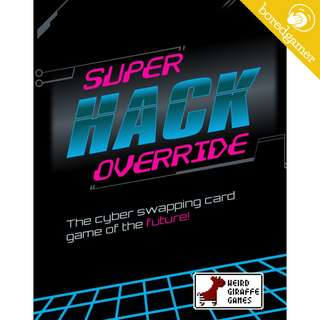 (Kickstarter) Super Hack Override Board Game