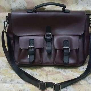 Sling Bag/ Postman Bag Maroon