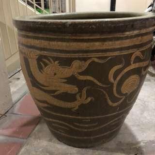Big vintage urn