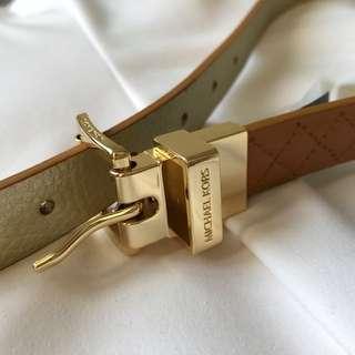 100% genuine leather REVERSIBLE belt from Michael Kors