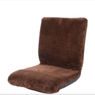 Floor Chair Simple Microfine (Brown)