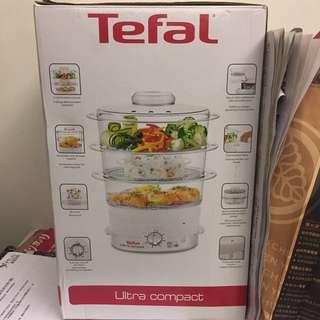 ✨全新Tefal ultra compact三格電蒸籠✨