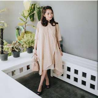 Audrey Lace Minidress + Inner Jersey Suitable For Maternity
