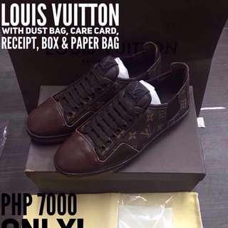 Louis Vuitton Monogram Leather Sneaker