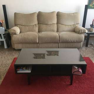 Comfortable 3 Seater recliner (very low price)
