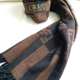Fendi Vintage Scarf 頸巾 圍巾