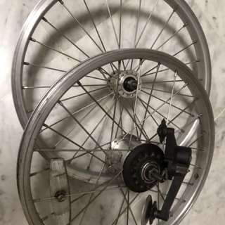Brompton 3 speed wheelset