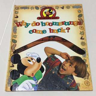 Mickey Wonders Why - Why do boomerangs come back?