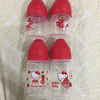 Hello kitty Milk Bottles