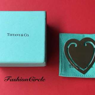 Free shipping!Genuine preloved Vintage Tiffany & Co Heart Bookmark.