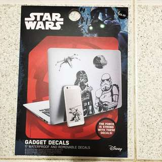 Star Wars 裝飾貼花 Gadget decals (waterproof and removable)