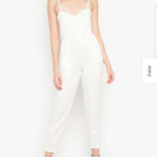 marked down White Playsuit 350 only (new)