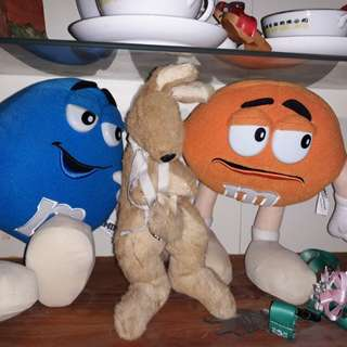 Limited edition M& M plush Toys