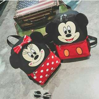 Korean Mickey and Minnie Mouse Bag